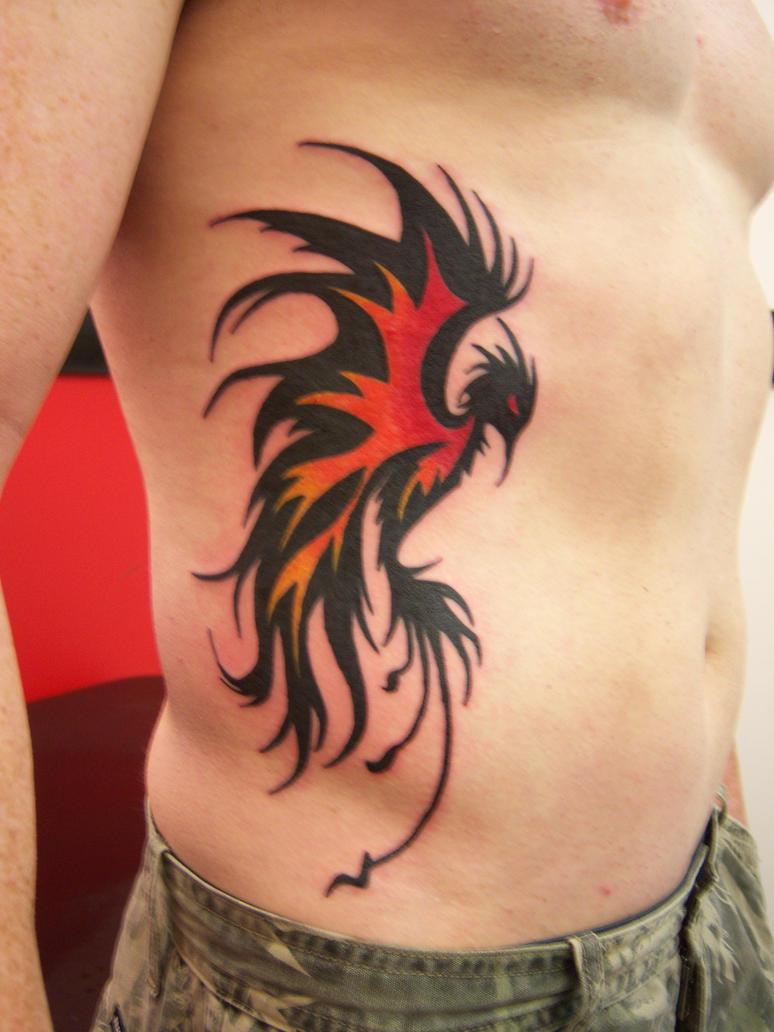 Tribal phoenix tattoo by body mods on deviantart for Tattoo artist phoenix az