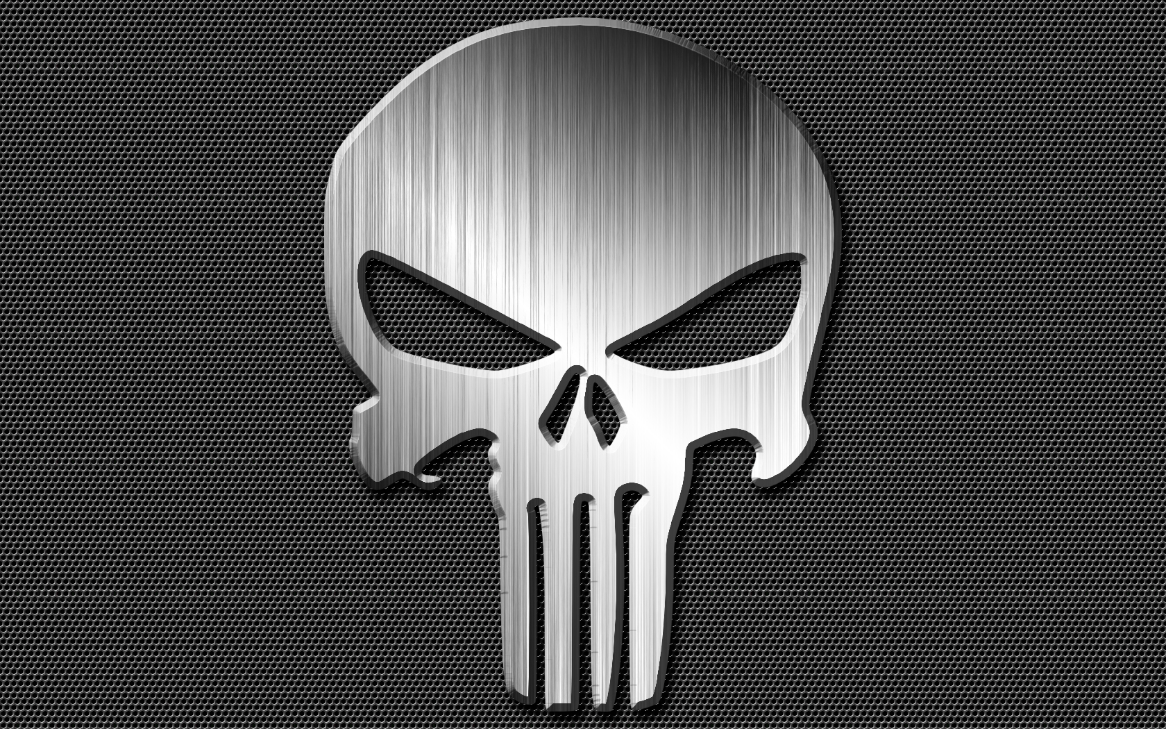 Punisher Skull Emblem Decal Made From Aluminum Diamond Ebay