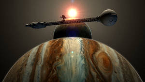 2001: A Space Odyssey Discovery Jupiter Mission