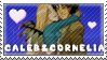 Caleb and Cornelia stamp by MikuDaSweet