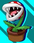Piranha Plant Pixel Art