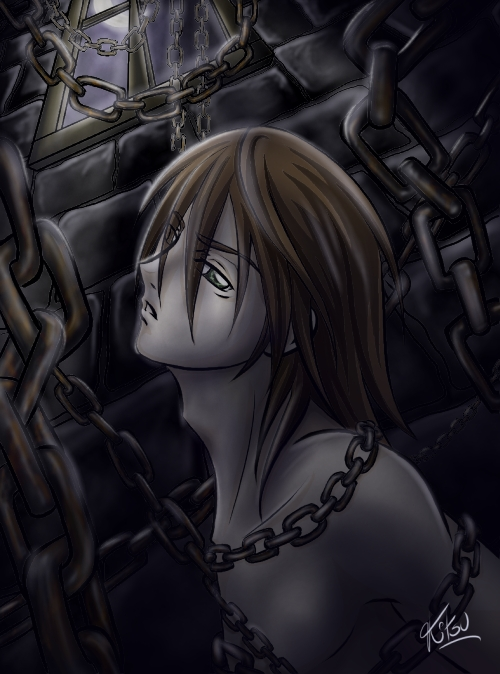 OC_Chains in the Dark_ color by Inner01