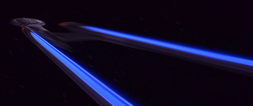 Starship Enterprise Warp Drive Test - YouTube