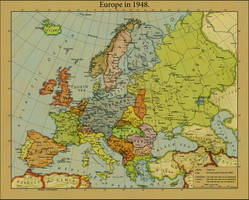 Europe in 1948