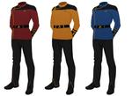 Star Trek Uniform concept, dress uniform variant 2