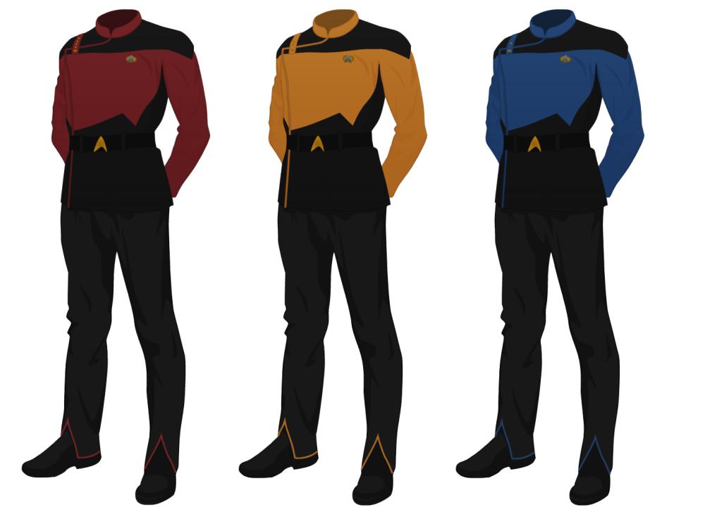 Class A Starfleet Uniform (male) (Star Trek)
