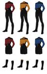 Class A Starfleet Uniform, (female)