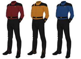 Class C Uniform, Captain's Alternate (m) by JJohnson1701