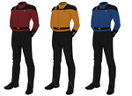 Class C Uniform, Captain's Alternate (m)