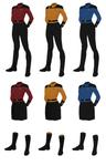 Class C Uniform, Captain's Alternate (f)