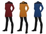 Star Trek concept uniform, pregancy variant