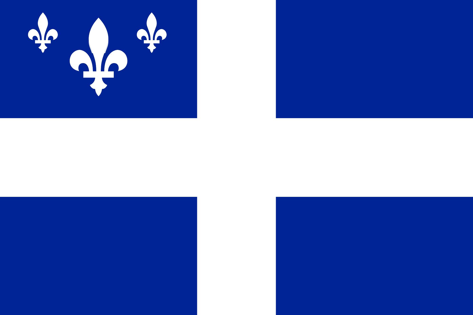 Quebec State Flag 2 by JJohnson1701 on DeviantArt