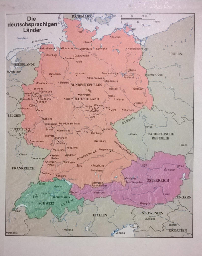 Textbook map of the german speaking countries by jjohnson1701 on textbook map of the german speaking countries by jjohnson1701 publicscrutiny Image collections