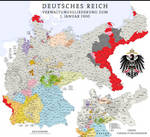 German Empire removing ethnic French and Polish