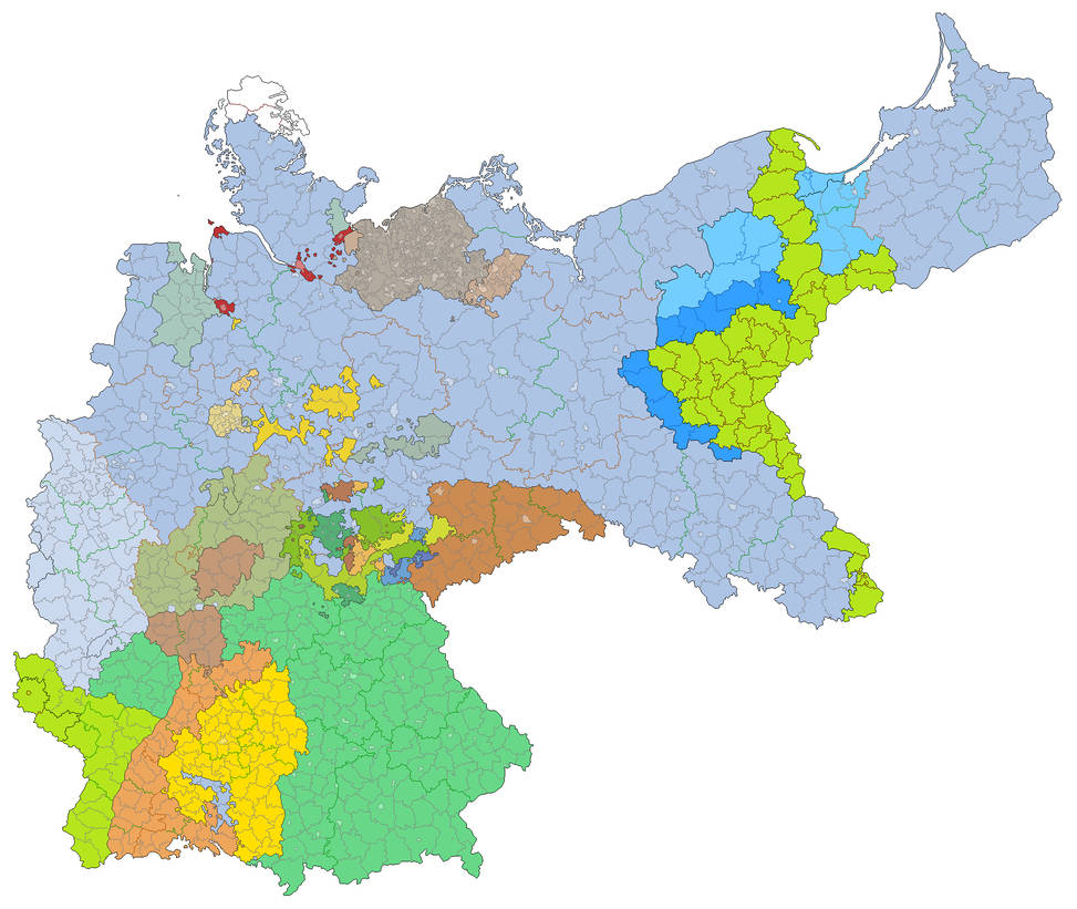 Map Of Germany Post Ww2.Germany After Ww2 By Jjohnson1701 On Deviantart