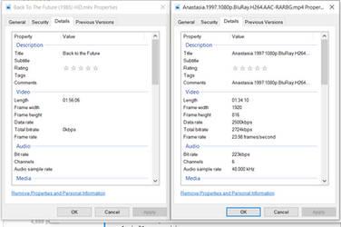 Mkv File Comparison