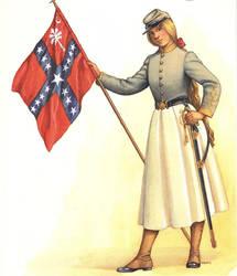 Female Confederate