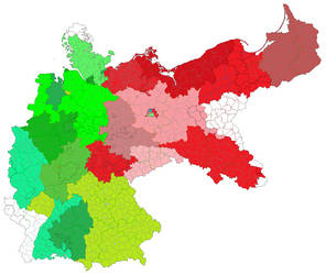 Map Of Altered Germany