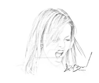 Charlize Theron Sketch