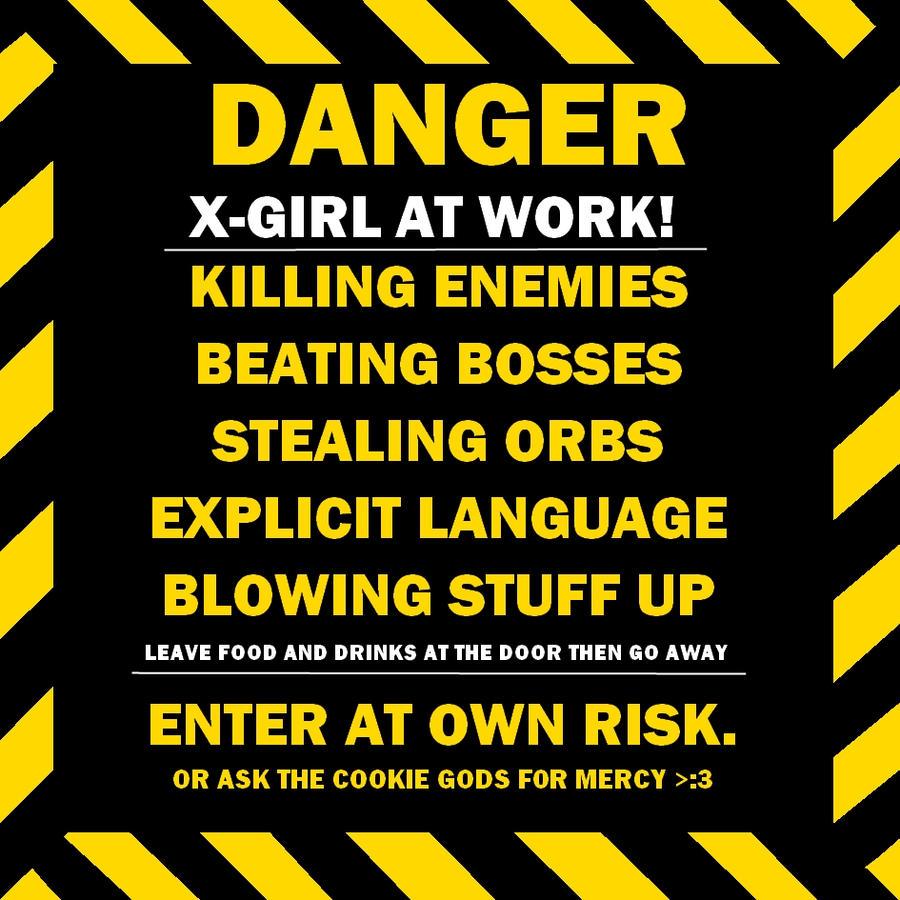 girl at work poster by Ekairim on DeviantArt