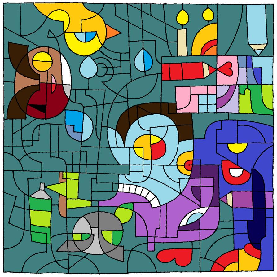 Lost in my mind by AuroreMaudite09