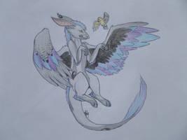 Flying like a bird by AuroreMaudite09