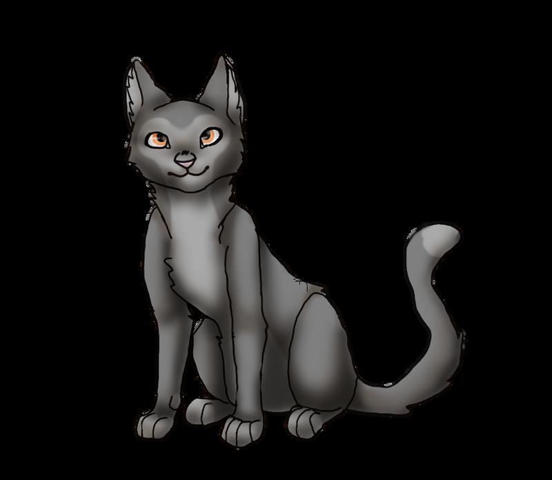 My first Digital art-Cat by AuroreMaudite09