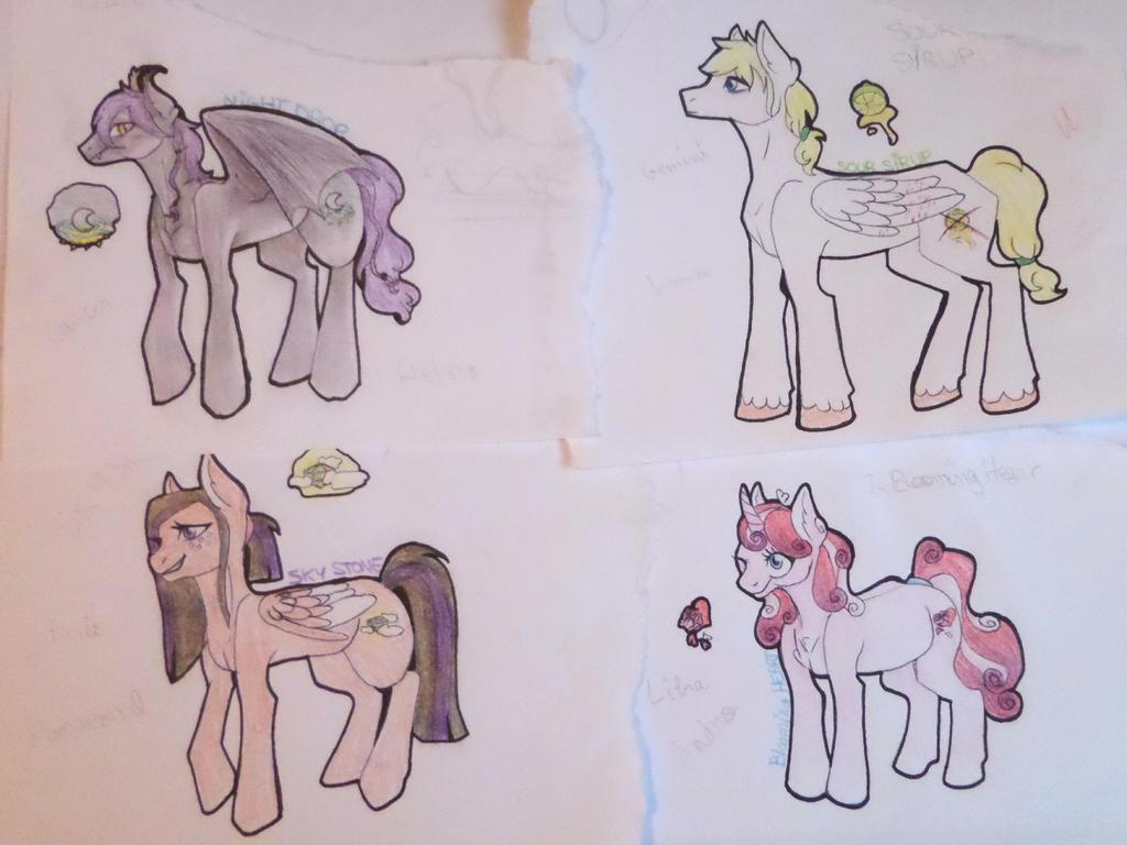ponies2 by AuroreMaudite09