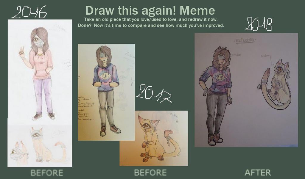 Draw this again meme - Maliedora by AuroreMaudite09