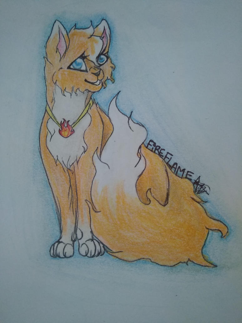 FireFlame - gift by AuroreMaudite09