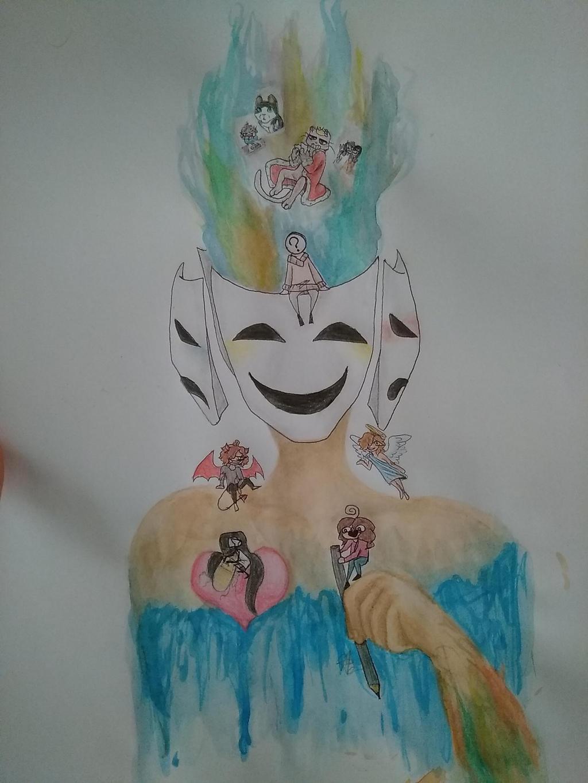 My Brainies - MHFA by AuroreMaudite09