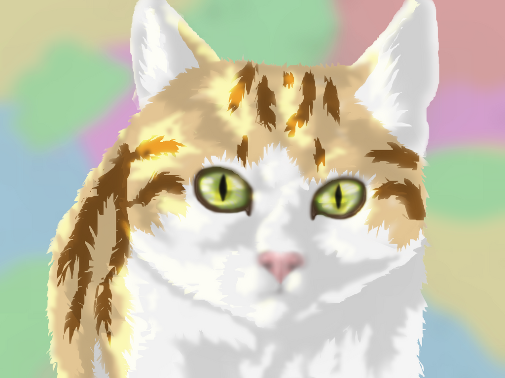 Digital Cat by AuroreMaudite09