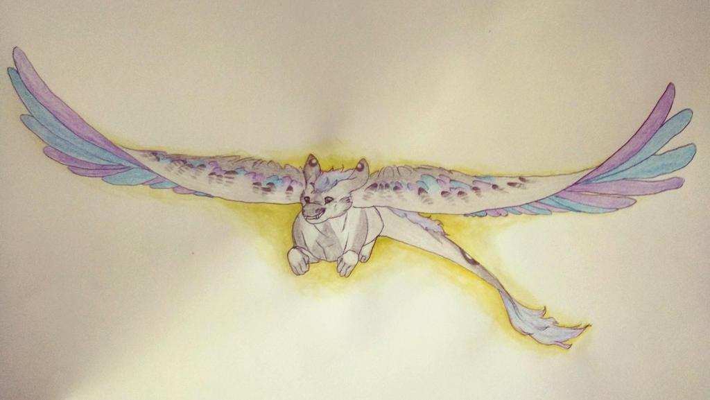 Flying Free - Nevuh by AuroreMaudite09