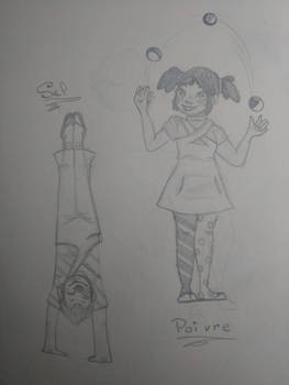 Poivre and Sel the Clowns