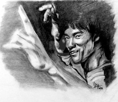 Bruce Lee by wynnieadams