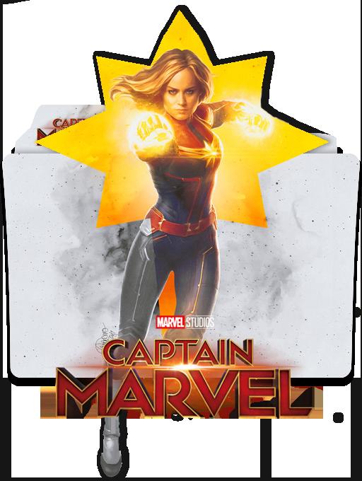 Captain Marvel 2019 Folder Icon 1 By Vardhan30 On Deviantart