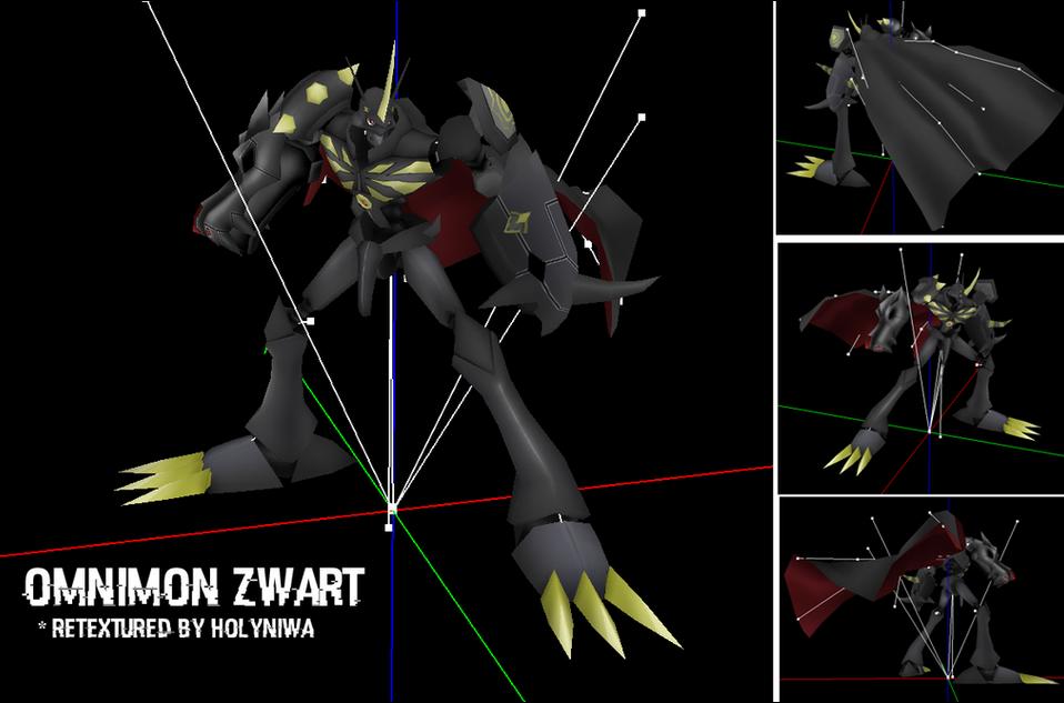 Omnimon Retexture - Digimon Masters by HolyNiwa on DeviantArt