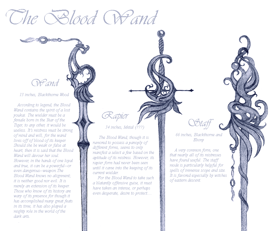 The Blood Wand by andrunia