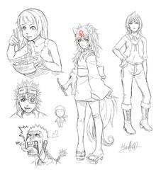 Random Doodles 000 by hahahayuus