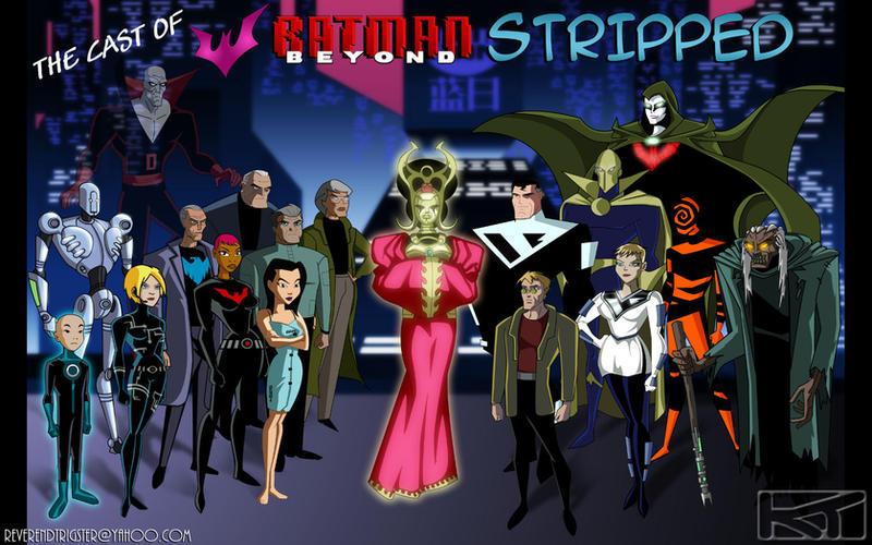 "Batman Beyond ""Cast Photo"" by ReverendTrigster"