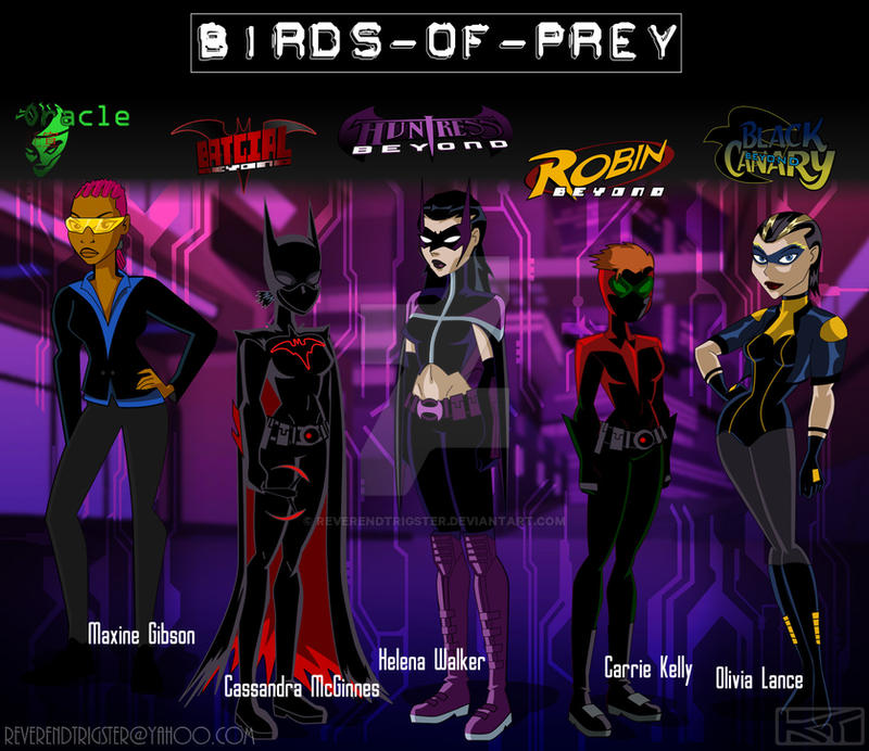 Birds of Prey - Beyond by ReverendTrigster