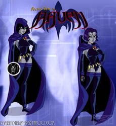 Raven - DCAU Titans by ReverendTrigster