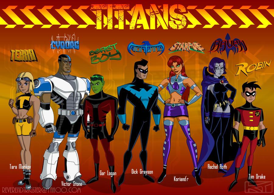 Want Teen titans 2009