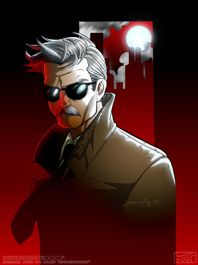 Commissioner Gordon - Coloured by ReverendTrigster