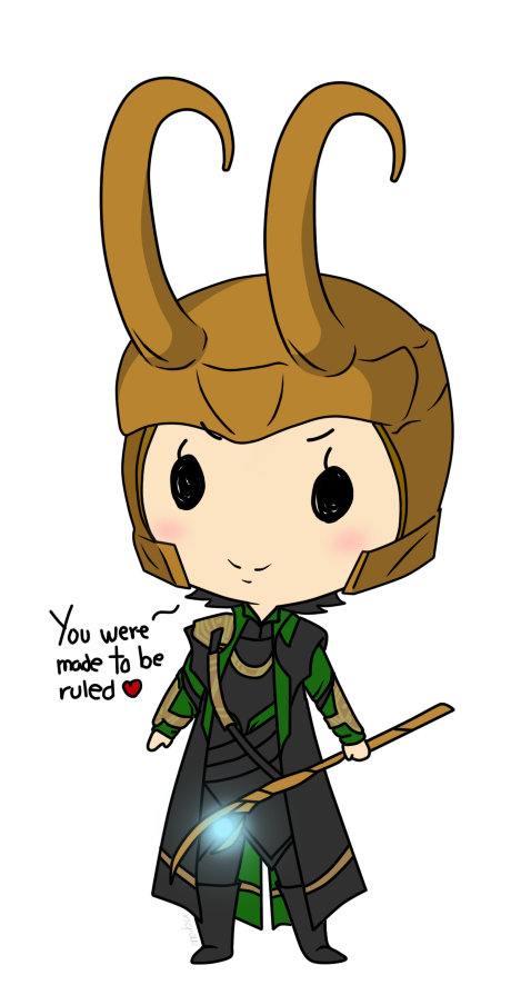 Lil' Loki by Mibu-no-ookami