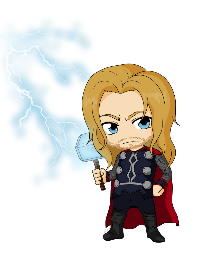 Avengers - Thor by Mibu-no-ookami on DeviantArt