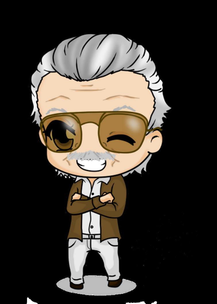 Stan Lee by Mibu-no-ookami