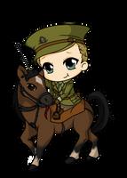 War Horse by Mibu-no-ookami
