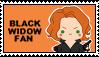 Stamp - Black Widow by Mibu-no-ookami