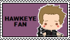 Stamp - Hawkeye Fan by Mibu-no-ookami